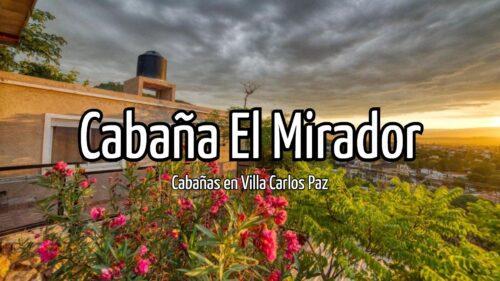 Cabaña El Mirador