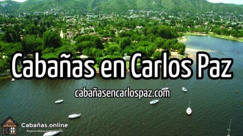 Cabañas en Carlos Paz